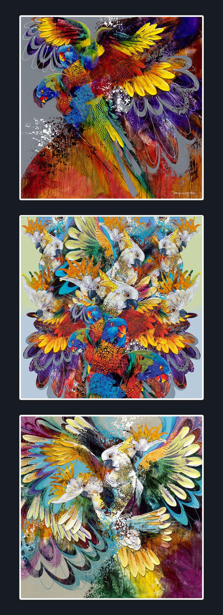 Parrots 16x44 panel (13inch blocks) lo res